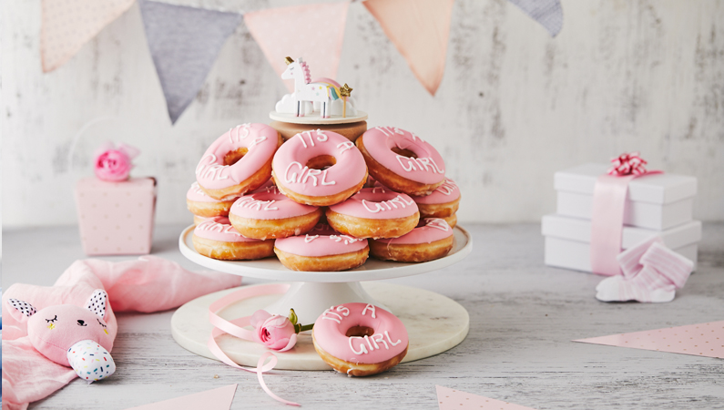Marvelous Birthday Wedding And Event Custom Doughnuts Krispy Kreme Funny Birthday Cards Online Alyptdamsfinfo